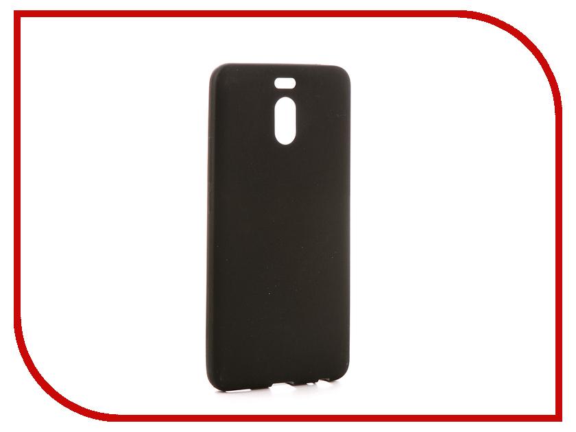 Аксессуар Чехол для Meizu M6 Note Zibelino Soft Matte Black ZSM-MEZ-M6-NOT-BLK