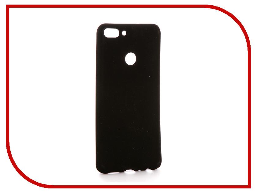 Аксессуар Чехол для Huawei P Smart Zibelino Soft Matte Black ZSM-HUA-PSM-BLK