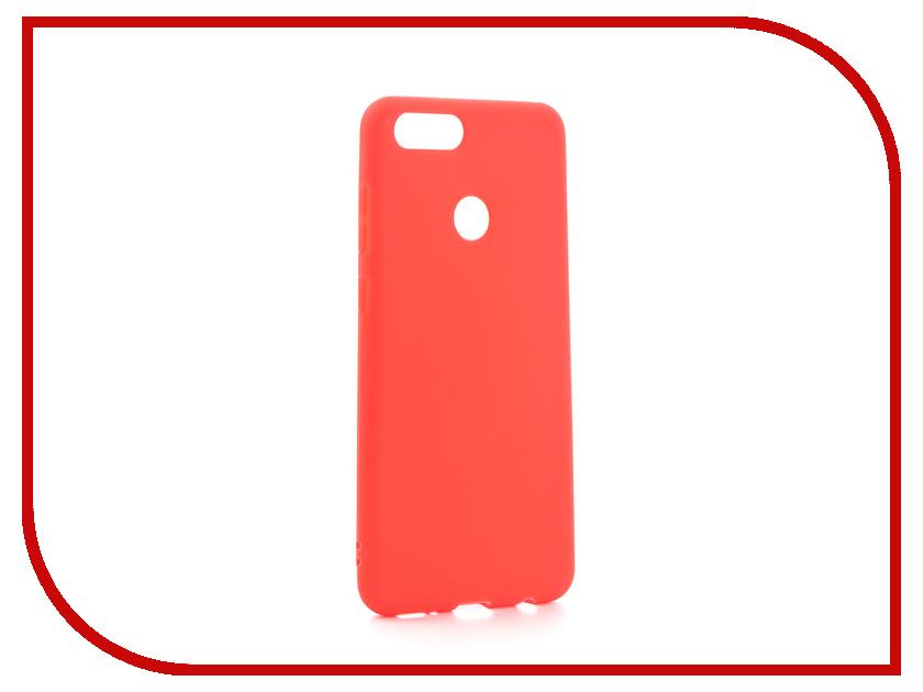 Аксессуар Чехол Huawei Honor 7X Zibelino Soft Matte Red ZSM-HUA-7X-RED аксессуар чехол huawei nova zibelino classico black zcl hua nov blk
