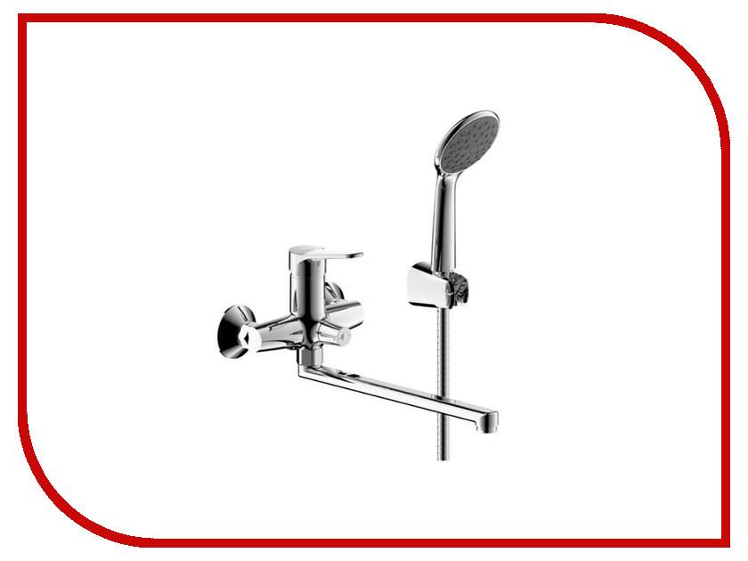 Смеситель Bravat Emeralda TF6135147CP-LB-RUS смеситель для ванны коллекция simple f6135193cp lb однорычажный хром bravat брават