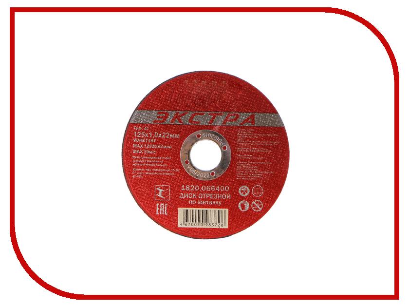 Elitech 1820.066400 отрезной по металлу 125x1.0x22mm