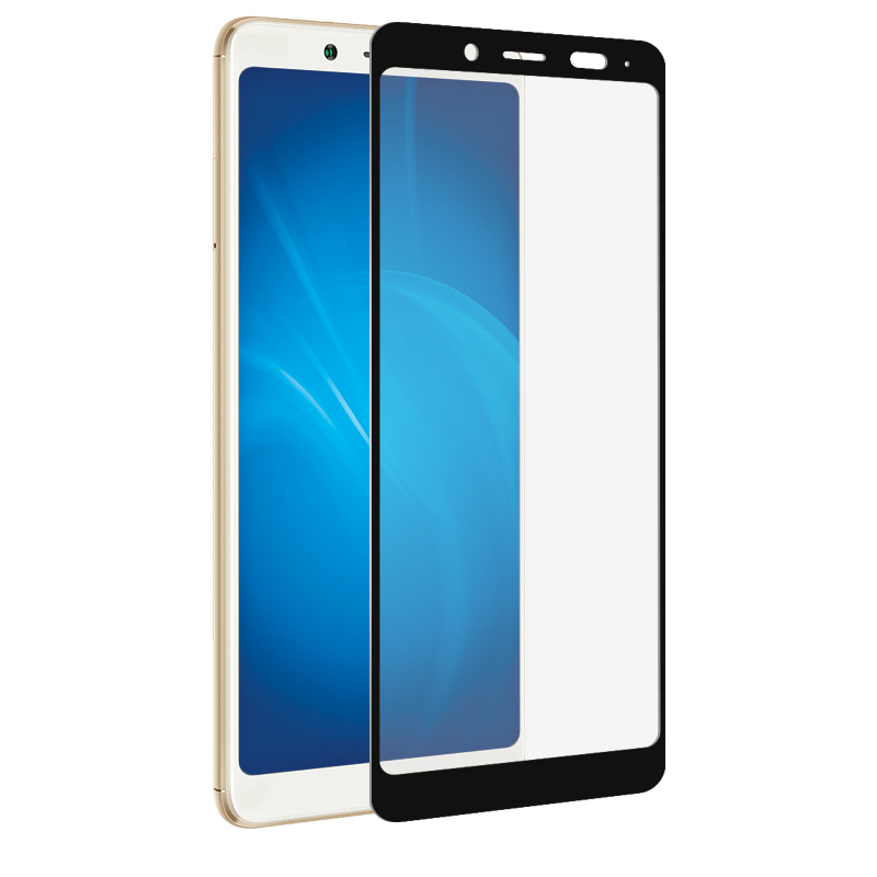 Аксессуар Закаленное стекло DF для Xiaomi Redmi Note 5/Note 5Ai Full Screen xiColor-26 Black цена и фото