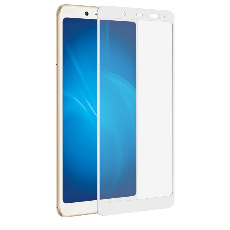 Аксессуар Закаленное стекло DF для Xiaomi Redmi Note 5/Note 5Ai Full Screen xiColor-26 White