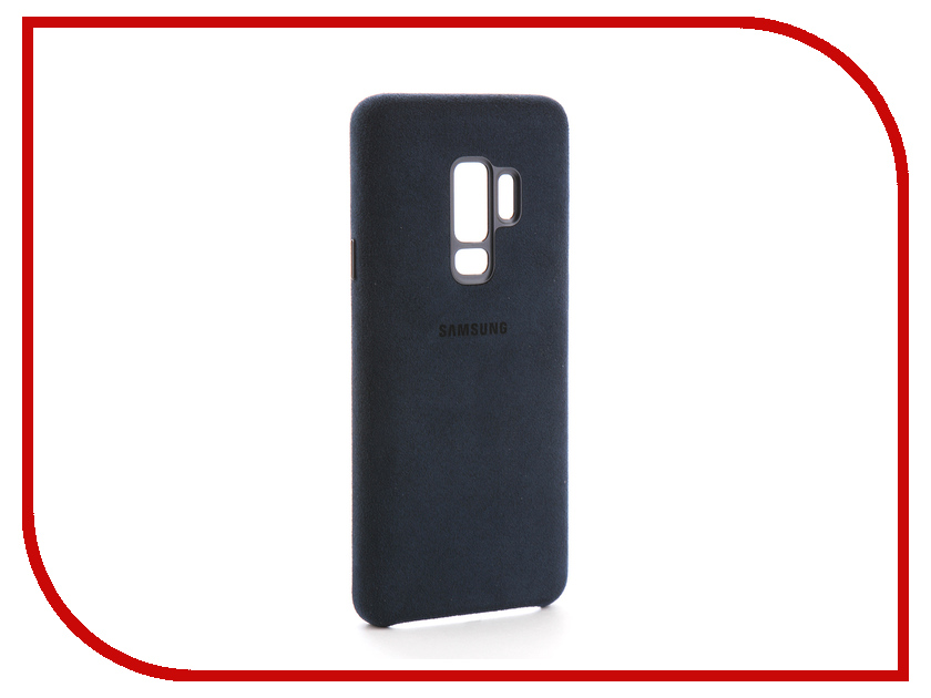Аксессуар Чехол Samsung Galaxy S9 Plus Alcantara Cover SAM-EF-XG965ALEGRU Blue аксессуар чехол samsung galaxy s9 plus silicone cover light blue ef pg965tlegru