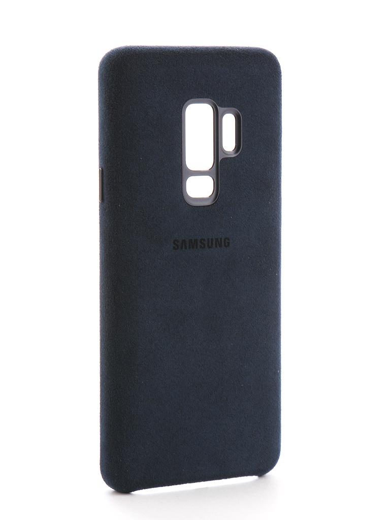 Аксессуар Чехол Samsung Galaxy S9 Plus Alcantara Cover SAM-EF-XG965ALEGRU Blue