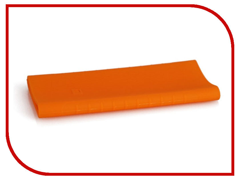 Аксессуар Чехол Xiaomi Silicone Case for Mi Power Bank 2 PLM09ZM 10000mAh 2xUSB Orange
