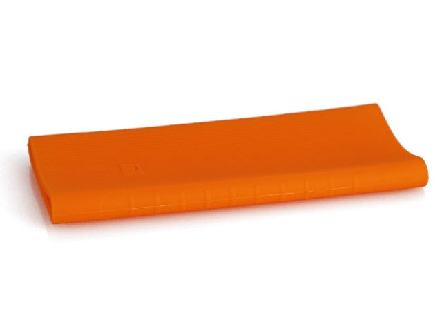 Чехол Xiaomi Silicone Case for Mi Power Bank 2 PLM09ZM 10000mAh 2xUSB Orange
