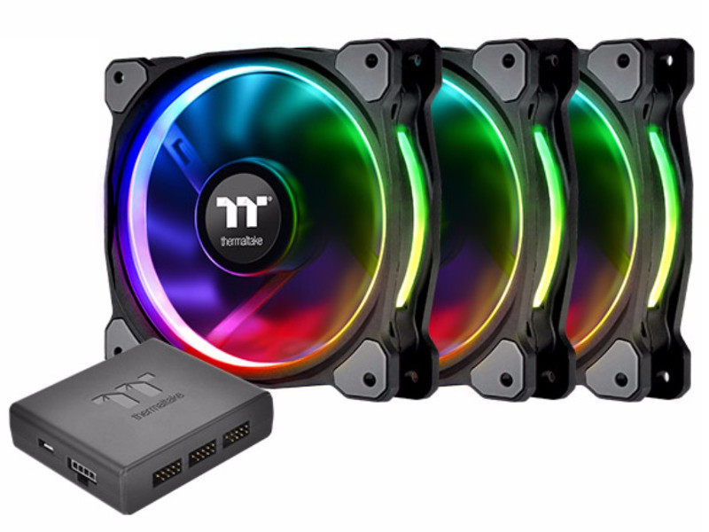 Вентилятор Thermaltake Riing Plus 14 LED RGB Radiator Fan TT Premium Edition (3 Pack)