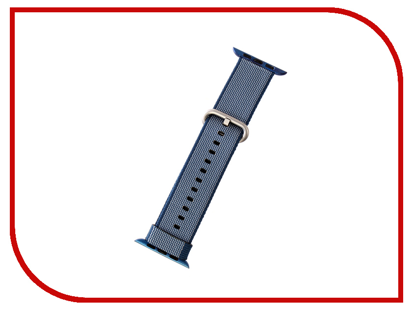 Аксессуар Ремешок Activ Sport плетеный нейлон для APPLE Watch 42mm Blue 80251 men automatic skeleton watch new number sport design bezel golden watch mens watches top brand luxury montre homme clock