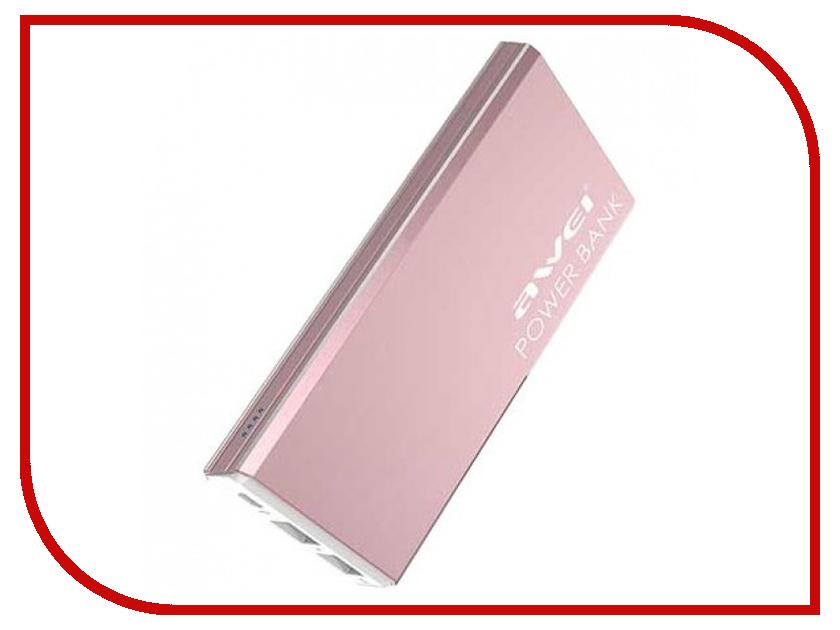 Аккумулятор Awei P92K Rose Gold аккумулятор awei p84k blue