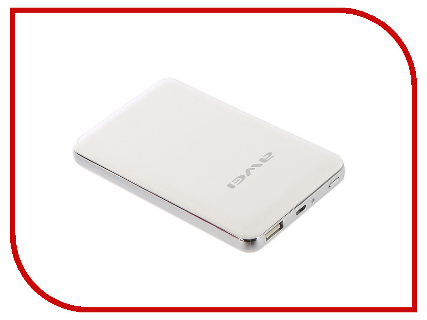 Аккумулятор Awei P84K White аккумулятор