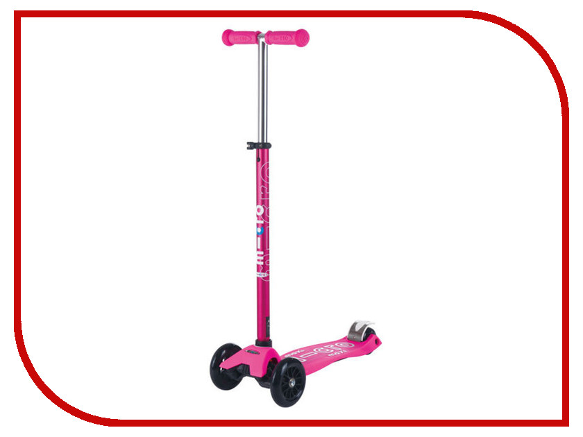 Самокат Micro Maxi Micro Deluxe Pink Neon MMD035 maxi micro deluxe синий mmd023 micro