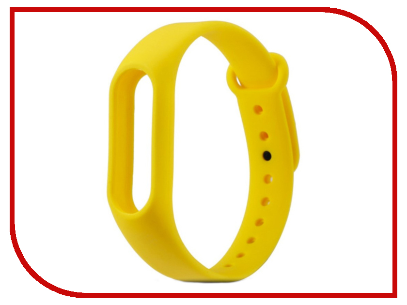 Aксессуар Ремешок Activ for Xiaomi Mi Band Silicone Yellow 83774 aксессуар ремешок activ for xiaomi mi band silicone sky blue 83777