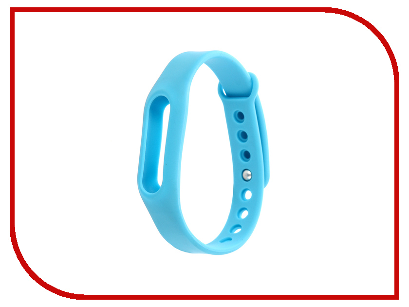 Aксессуар Ремешок Activ for Xiaomi Mi Band Silicone Sky Blue 83777 fashion silicone band red led water resistant wrist watch blue silver 1 x cr2032