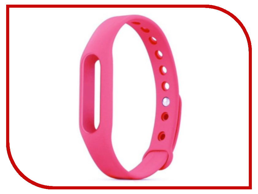 Aксессуар Ремешок Activ for Xiaomi Mi Band Silicone Pink 83775 aксессуар ремешок activ for xiaomi mi band 2 sport n silicone grey green 83782