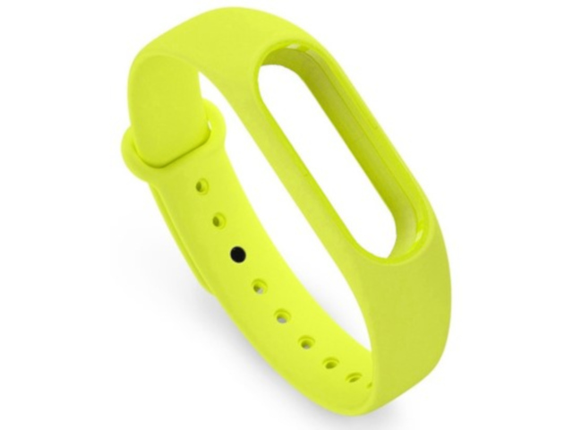 Aксессуар Ремешок Activ for Xiaomi Mi Band Silicone Green 83778
