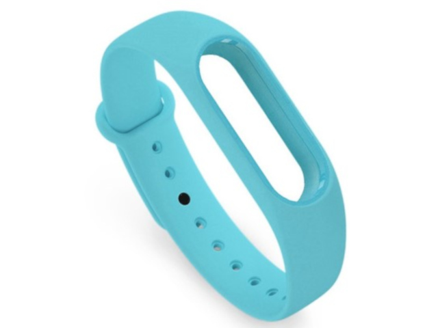 Aксессуар Ремешок Activ for Xiaomi Mi Band Silicone Blue 83776