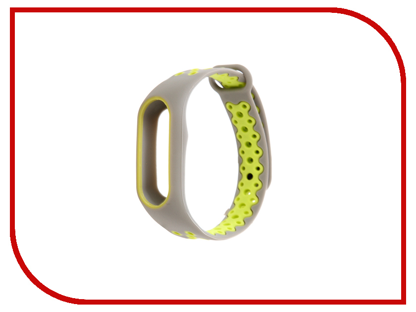 Aксессуар Ремешок Activ for Xiaomi Mi Band 2 Sport N Silicone Grey-Green 83782 aксессуар ремешок activ for xiaomi mi band silicone sky blue 83777