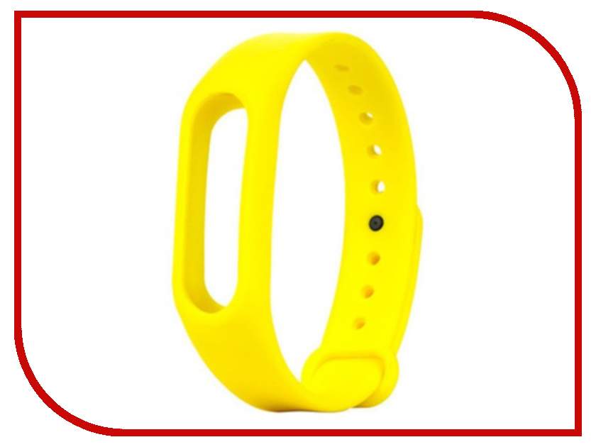 Aксессуар Ремешок Activ for Xiaomi Mi Band 2 Silicone Yellow 83790 aксессуар ремешок activ for xiaomi mi band silicone sky blue 83777