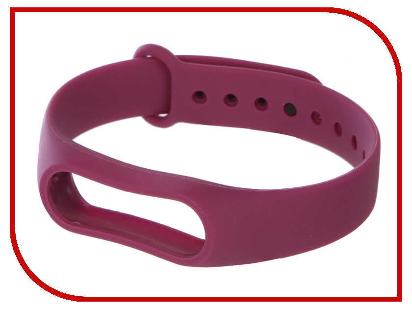 Aксессуар Ремешок Activ for Xiaomi Mi Band 2 Silicone Purple 83787