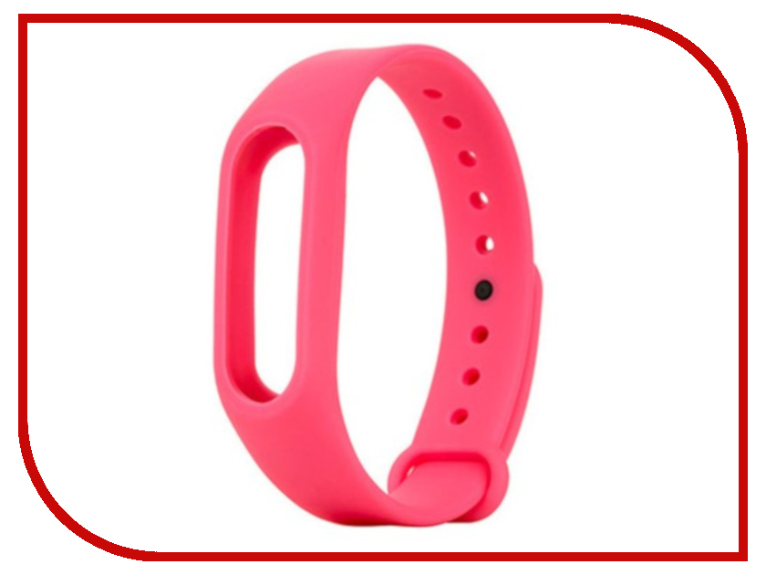 Aксессуар Ремешок Activ for Xiaomi Mi Band 2 Silicone Pink 83791