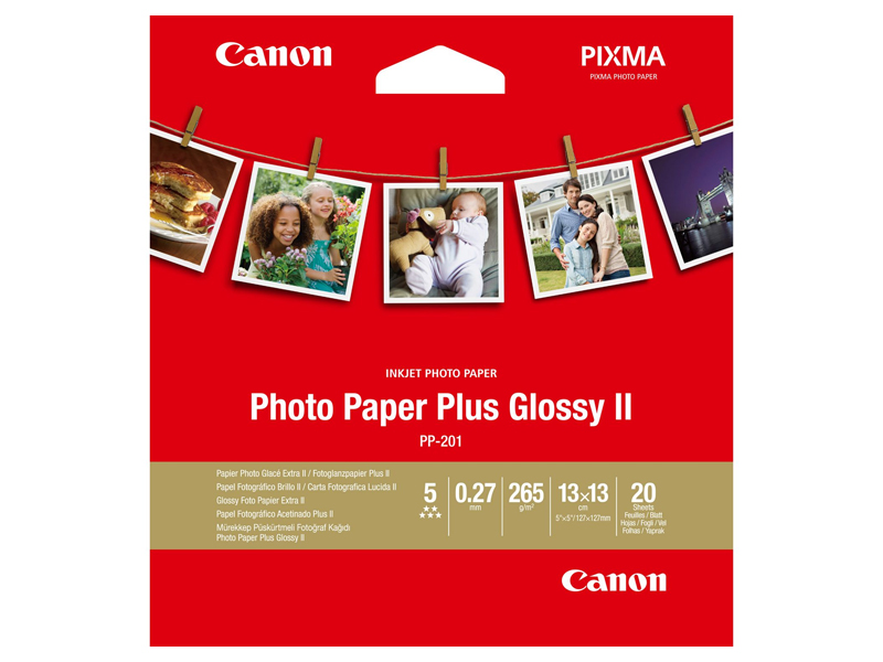 Фотобумага Canon PP-201 Photo Paper Plus Glossy II 260g/m2 20 листов 2311b060