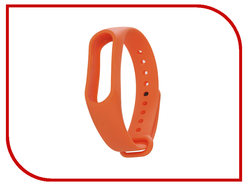 Aксессуар Ремешок Activ for Xiaomi Mi Band 2 Silicone Orange 83789 aксессуар ремешок activ for xiaomi mi band silicone sky blue 83777
