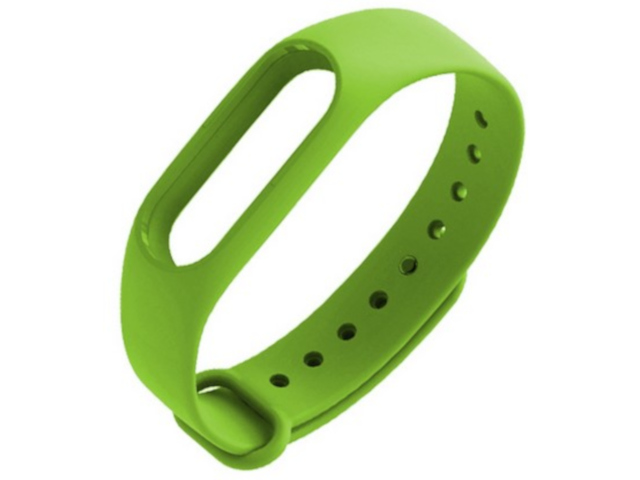 Aксессуар Ремешок Activ for Xiaomi Mi Band 2 Silicone Green 83794