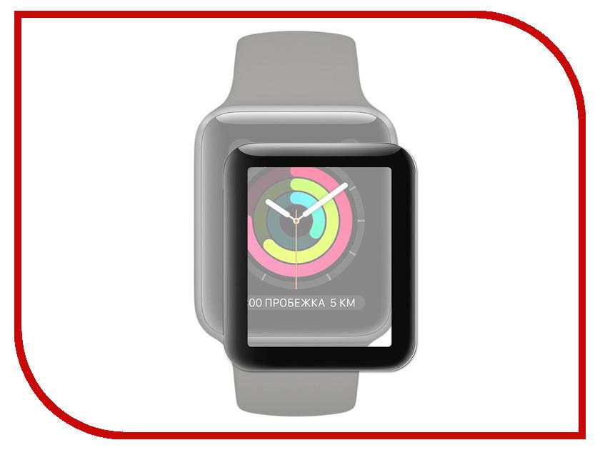 Аксессуар Защитное стекло Activ 3D APPLE Watch 38mm Black 77968 аксессуар защитное стекло gurdini 3d full screen для apple watch 38mm 903119