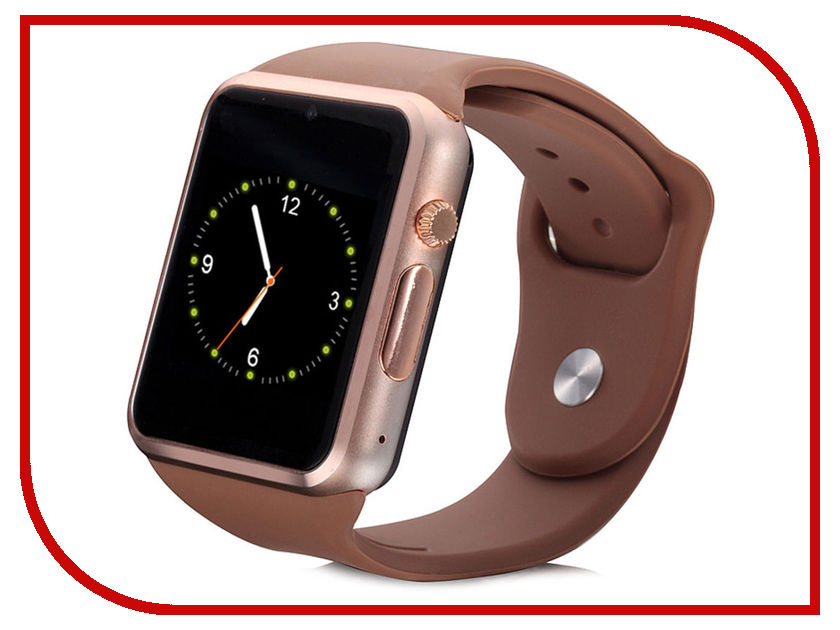 Умные часы ZDK A1 Brown умные часы zdk v8 silver pink