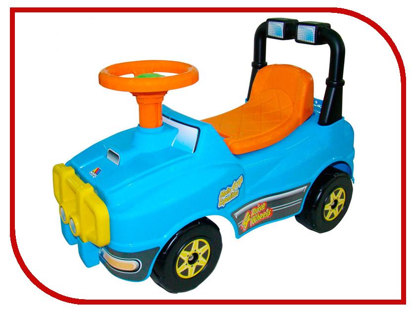 Каталка Полесье Джип №2 Light Blue 62871 каталка детская полесье полесье каталка сабрина 2 для девочек
