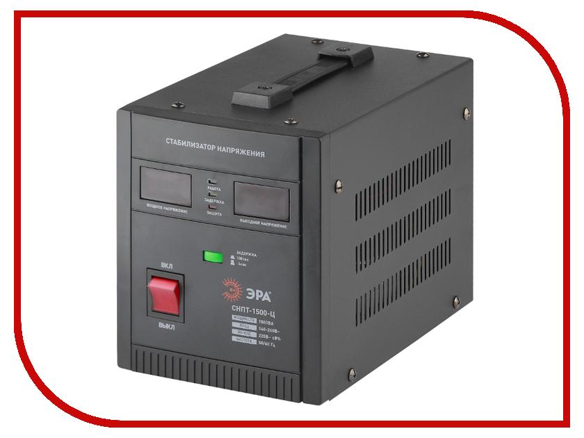 Стабилизатор ЭРА СНПТ-1500-Ц