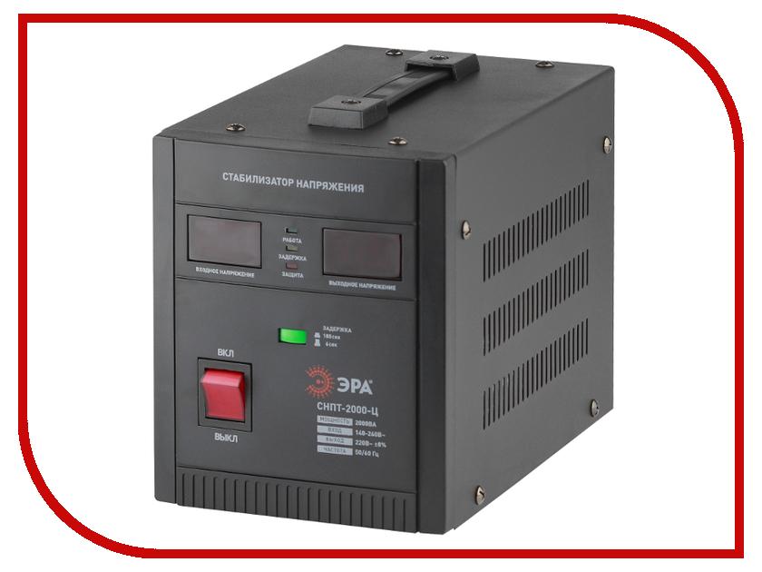 Стабилизатор ЭРА СНПТ-2000-Ц