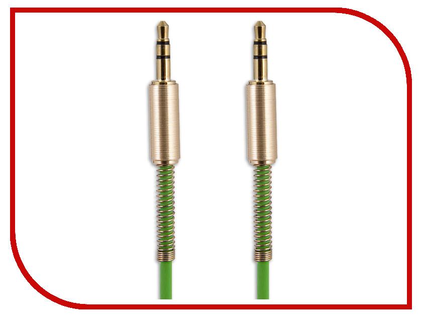 Аксессуар Belsis Jack 3.5mm - Jack 3.5mm 1m Green BS3018 аксессуар belsis 4rca 4rca rem gold 5m bw4048