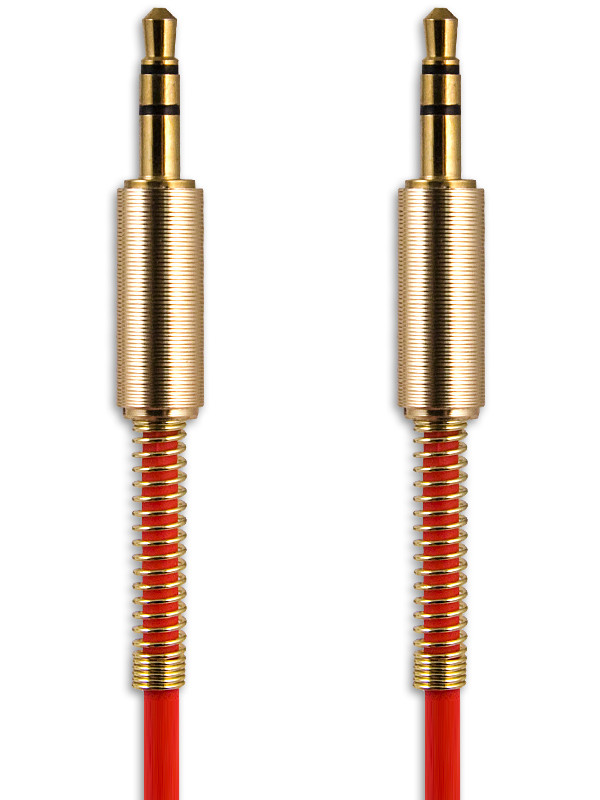 Аксессуар Belsis Jack 3.5mm - 1m Red BS3017