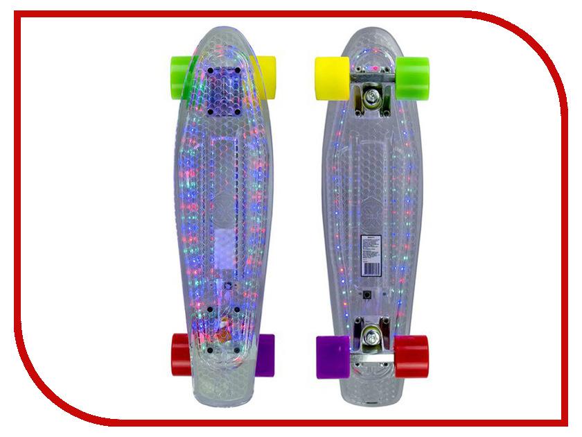 Скейт Maxcity MC Plastic Board LED Small