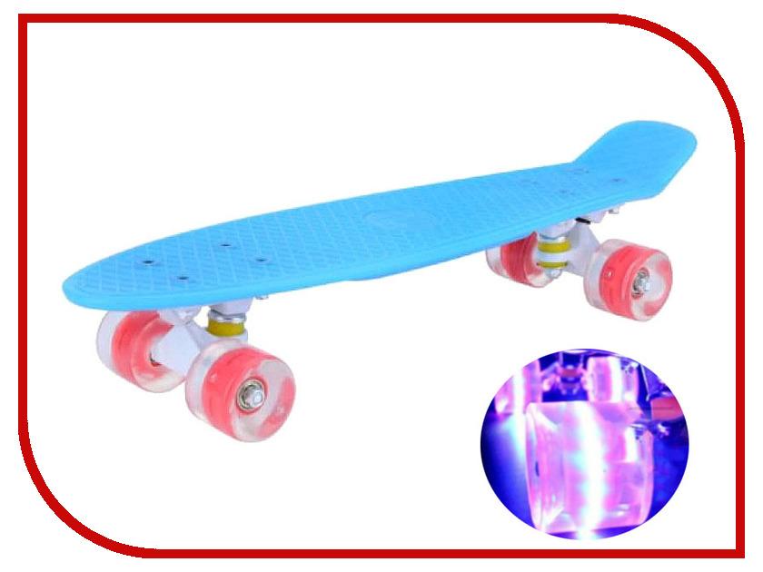 Скейт Maxcity MC Plastic Board Gloss Small Blue