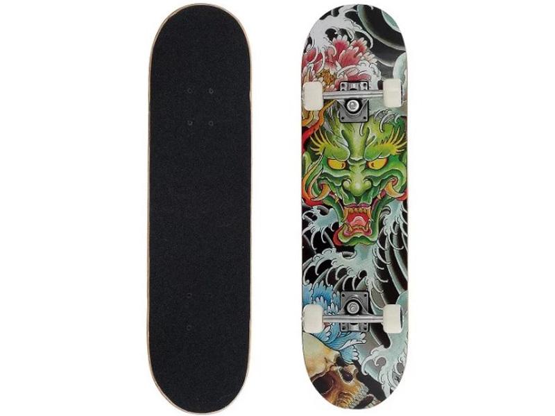 Скейт MaxCity Dragon цена