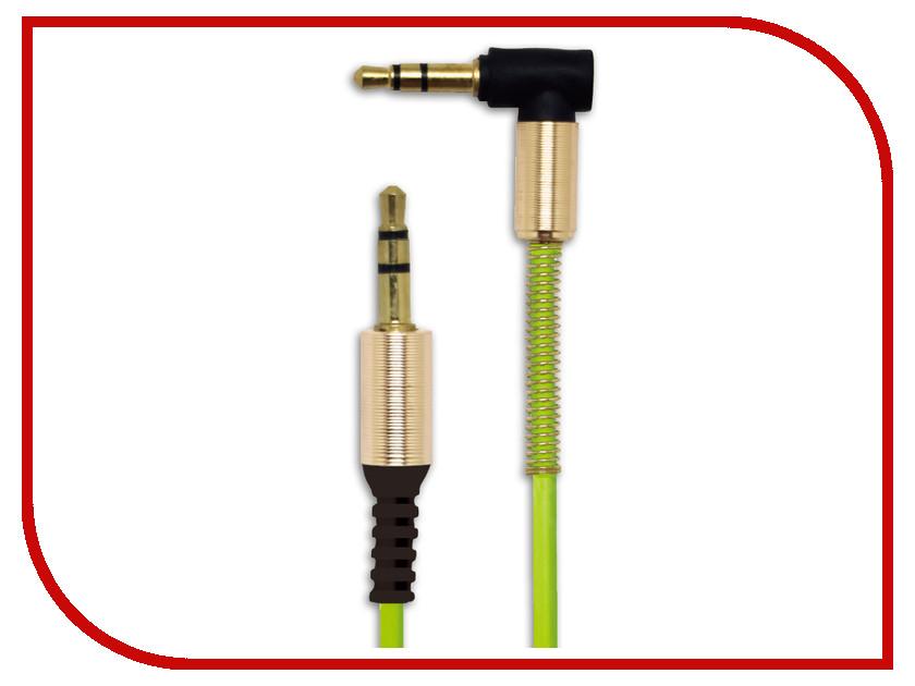 Аксессуар Belsis Jack 3.5mm - Jack 3.5mm 1m Green BS3009