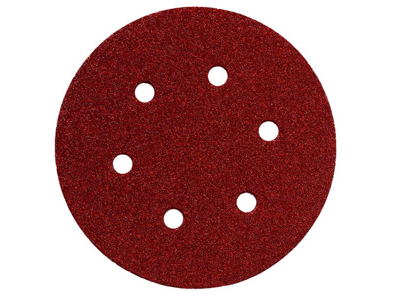 Шлифовальный круг Metabo 150mm P80 5шт 624003000