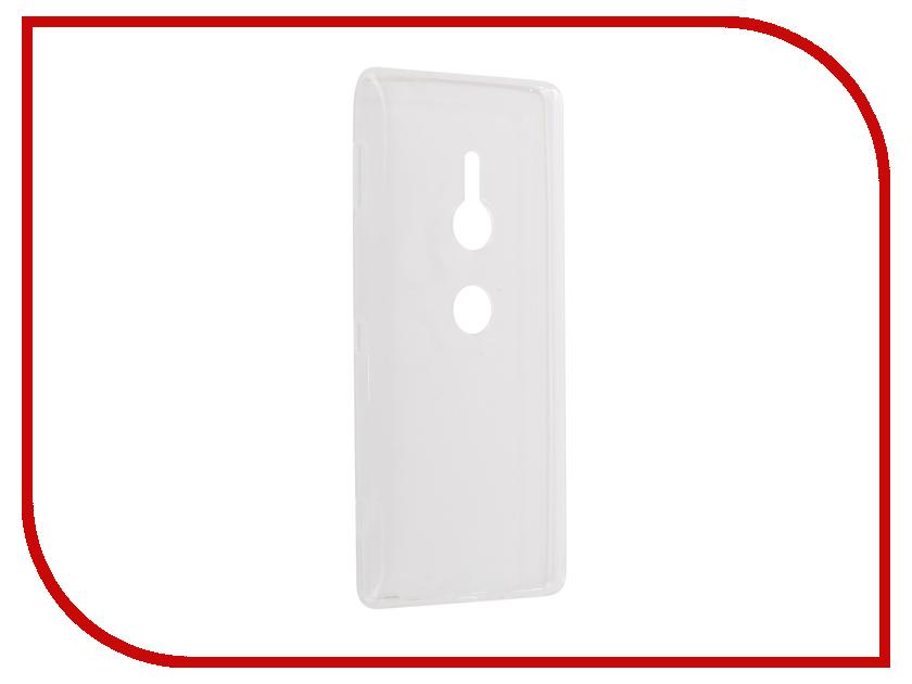 Аксессуар Чехол Sony Xperia XZ2 Zibelino Ultra Thin Case White ZUTC-SON-XZ2-WHT аксессуар чехол huawei nova lite zibelino ultra thin case white zutc hua nov lit wht