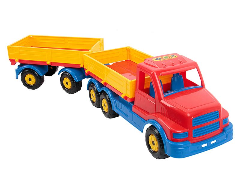 Игрушка Полесье Wader Автомобиль с прицепом Сталкер 44259 недорого