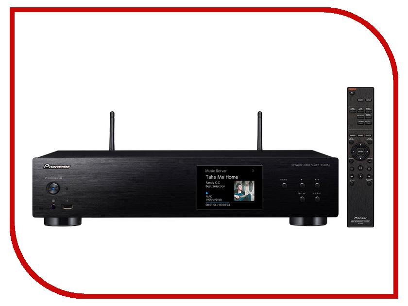 Сетевой аудио проигрыватель Pioneer N-30 Black медиаплеер pioneer n 30ae s n 30ae s