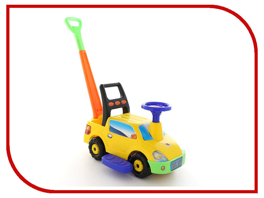 Каталка Полесье Пикап №2 Yellow 63052 каталка детская полесье полесье каталка сабрина 2 для девочек