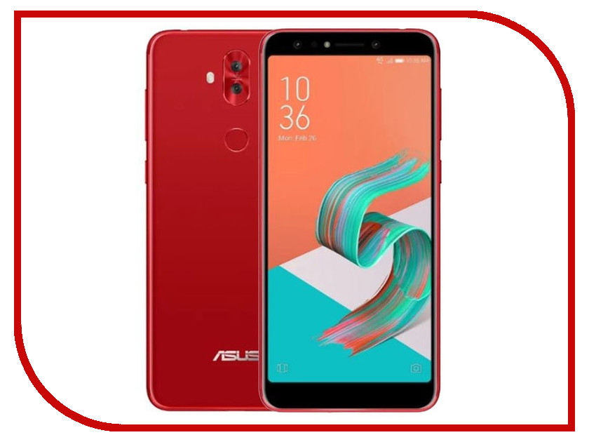 Сотовый телефон ASUS ZenFone 5 Lite ZC600KL 4/64GB Red