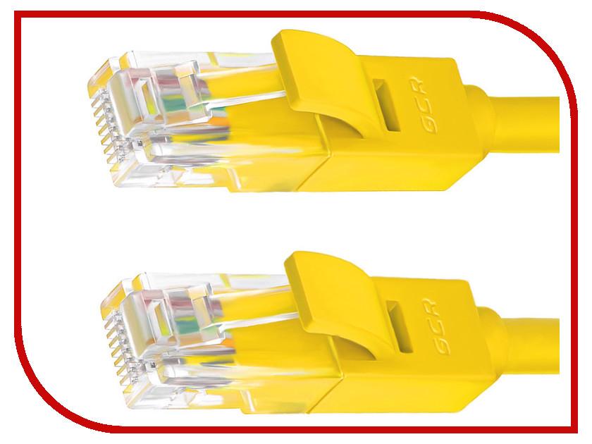 Сетевой кабель Greenconnect UTP 24AWG cat.5e RJ45 T568B 3m Yellow GCR-50704 сетевой кабель greenconnect utp 24awg cat 5e rj45 t568b 2m black gcr 50675