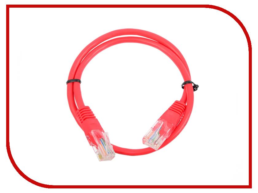 Сетевой кабель Greenconnect UTP 24AWG cat.5e RJ45 T568B 0.5m Red GCR-50689 сетевой кабель greenconnect utp 24awg cat 5e rj45 t568b 2m black gcr 50675