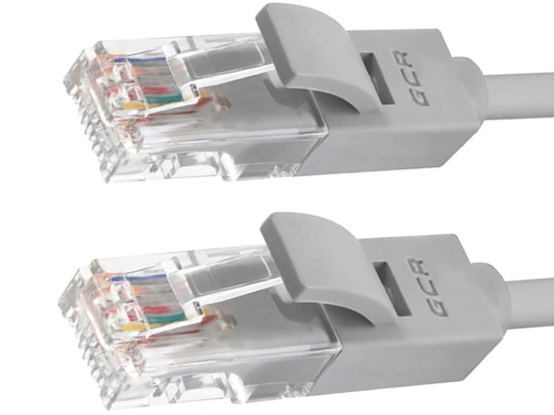 Сетевой кабель Greenconnect UTP 24AWG cat.5e RJ45 T568B 3m Grey GCR-50687