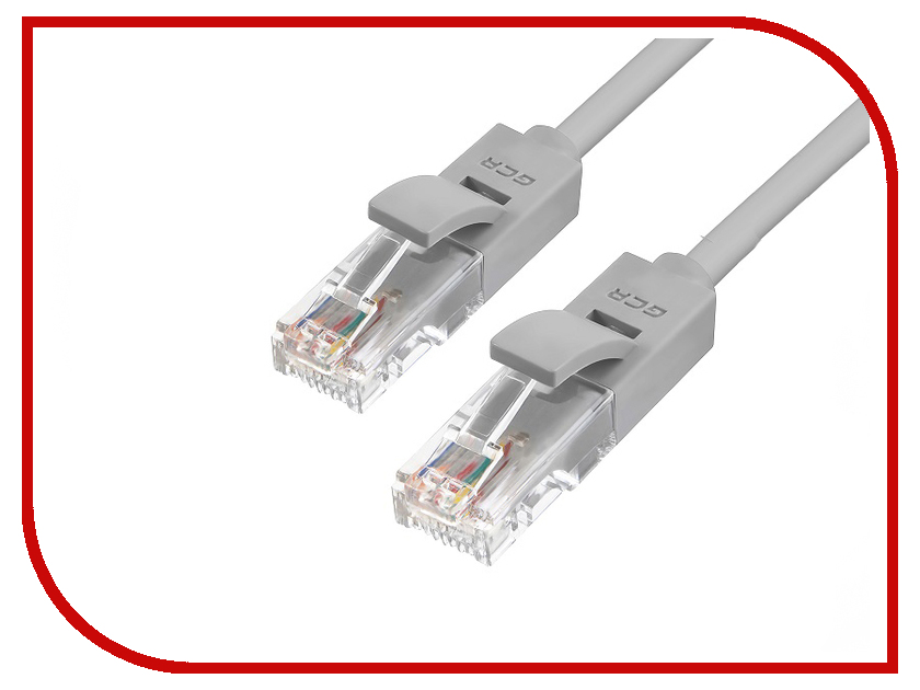 Сетевой кабель Greenconnect UTP 24AWG cat.5e RJ45 T568B 0.5m Grey GCR-50684 сетевой кабель greenconnect utp 24awg cat 5e rj45 t568b 1m black gcr 50674