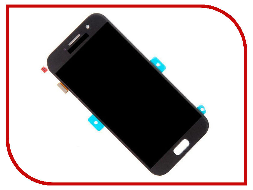 Дисплей Zip для Samsung Galaxy A5 2017 SM-A520F Black samsung replacement home button keypad flex cable for galaxy s duos s7562 black golden